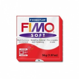 Fimo soft no.24 Indian red