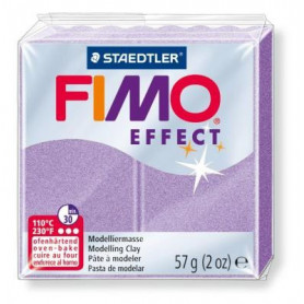 Fimo Effect nr. 607 parelmoer lila