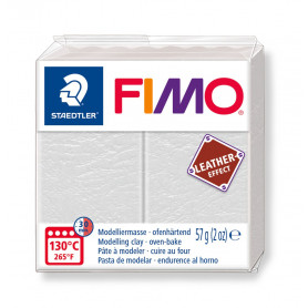 Fimo leather-effect 57 g ivory nr. 029