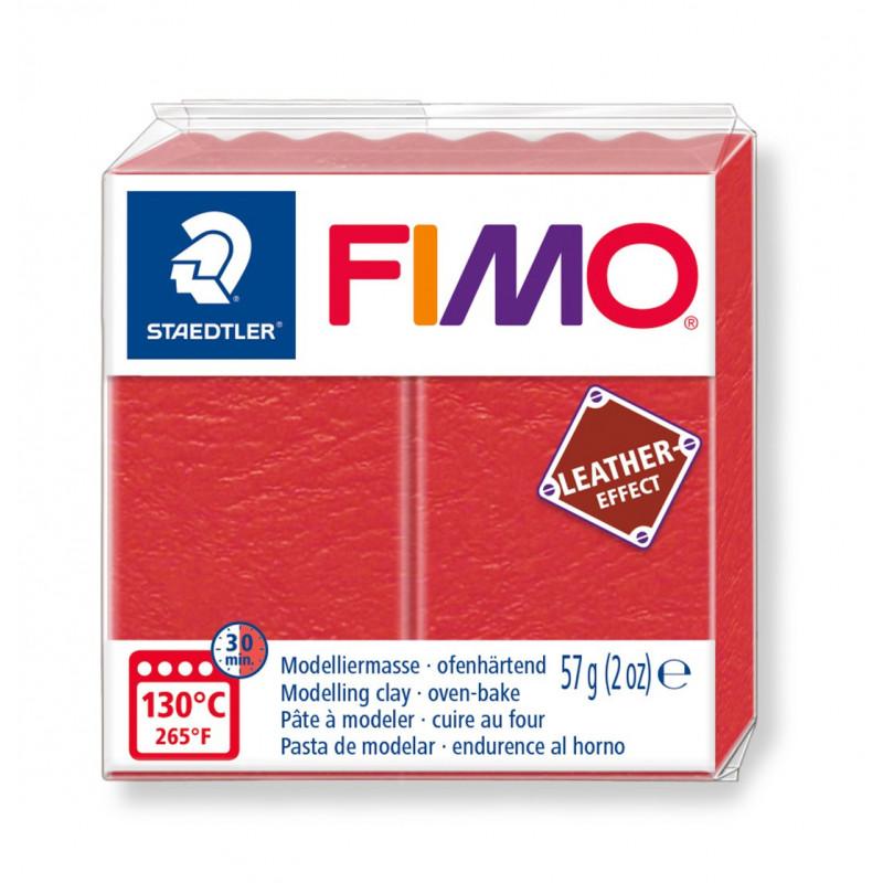 Fimo leather-effect 57 g watermeloen nr. 249