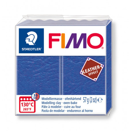 Fimo leather-effect 57 g indigo nr. 309