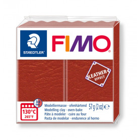 Fimo leather-effect 57 g rouille nr. 749
