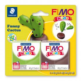 Fimo Kids Funny Cactus