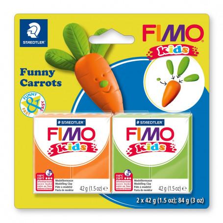Fimo Kids Funny wortels