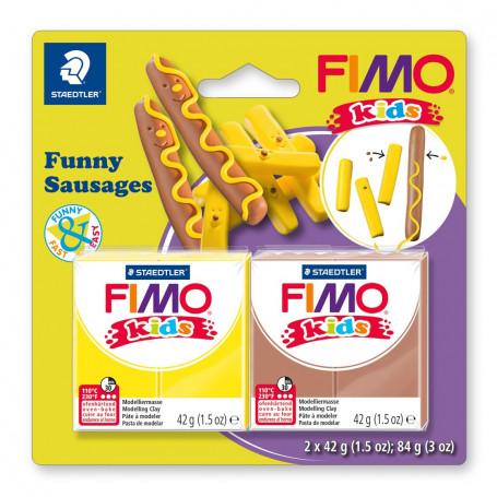 Fimo Kids Funny worstjes