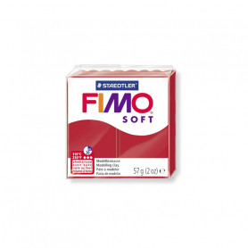 Fimo soft nr 2 Christmas red
