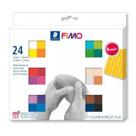 Fimo soft set - colour pack 24 basic colours
