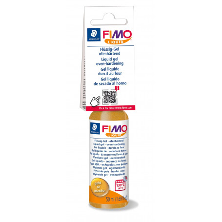 Fimo Liquid - Gold - 50 ml