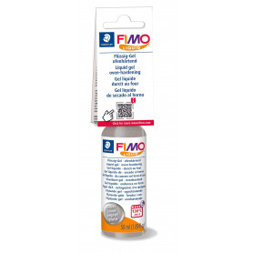 Fimo Liquid - Silber - 50 ml