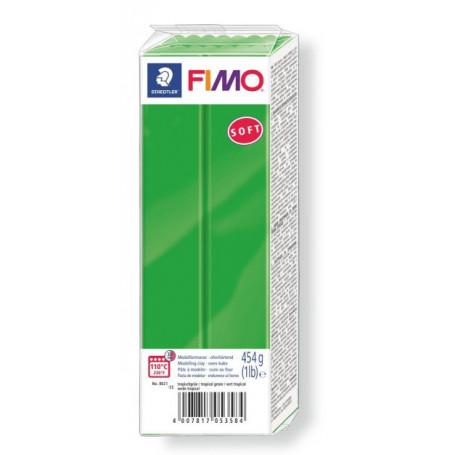 Fimo soft no.53 Tropical green 454gr.