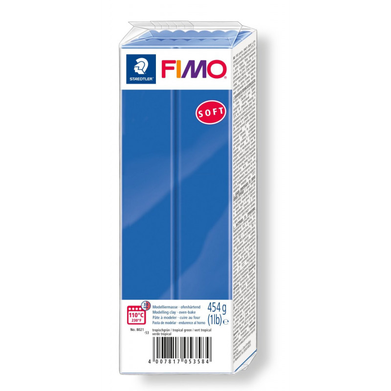 Fimo soft no.33 Brillant blue 454 gr.