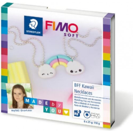Fimo DIY set BFF Kawaii Necklaces