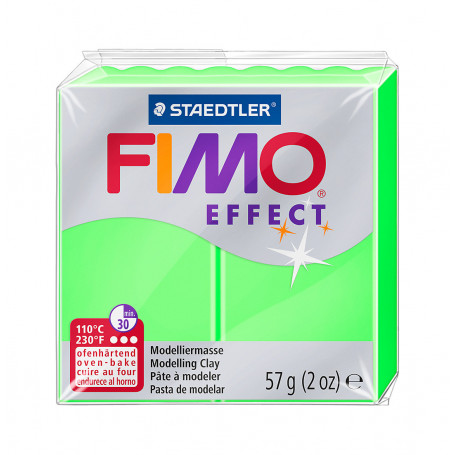 Fimo effect no. 501 Neon Green