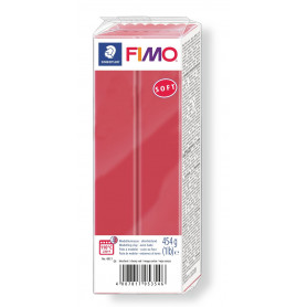 Fimo soft no.26 cherry red 454 gr