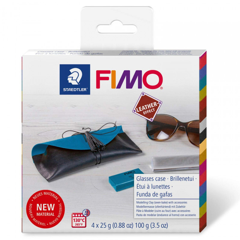 Fimo Leather DIY Glasses Case