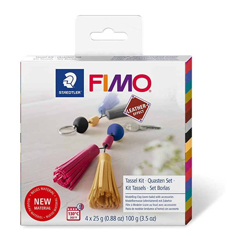 Fimo Leather DIY Tassel Kit