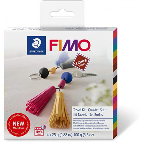 Fimo Leather DIY Sleutelhanger Set