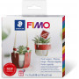 Fimo Leather DIY Plant hangers Set