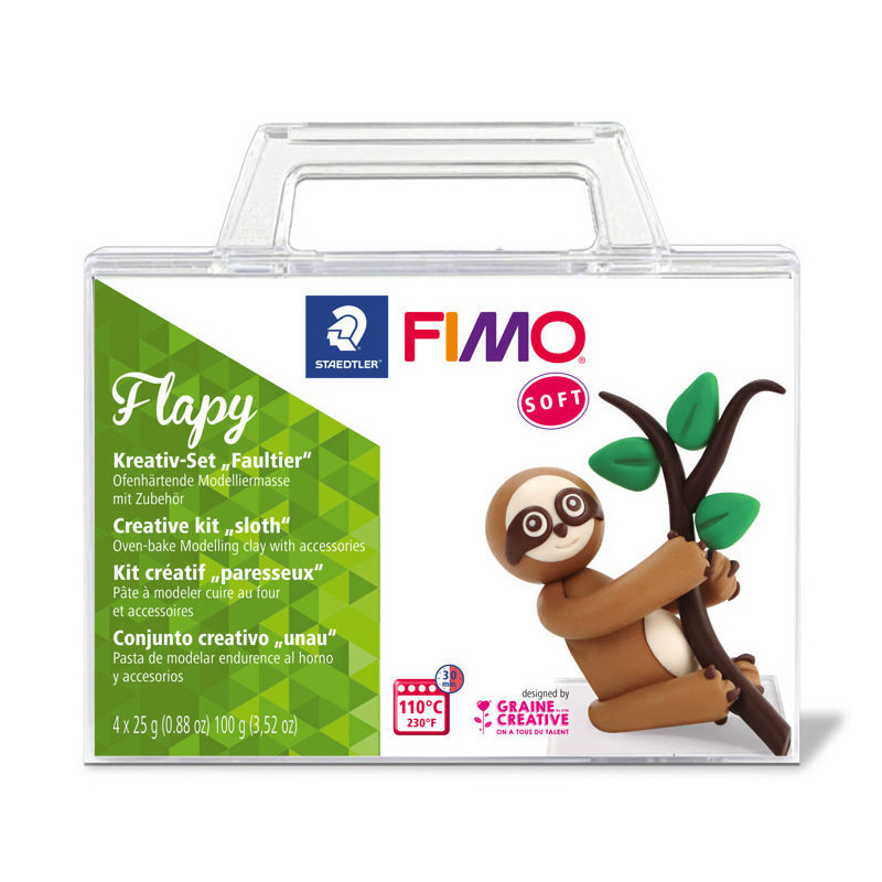 Fimo Soft Set - Sloth Flapy