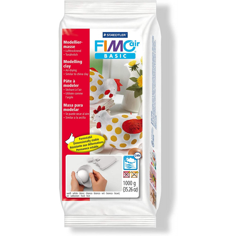 Fimo Air Basic 1kg Wit