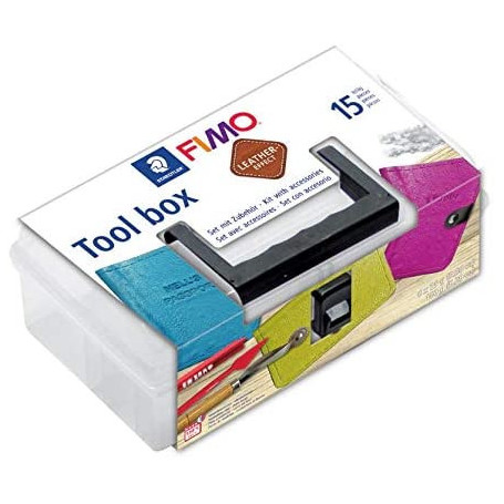 Fimo Leather Effect Tool Box