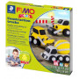 Fimo Kids startset Construction Trucks
