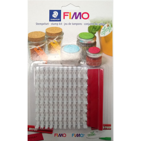 Fimo Stempel Kit