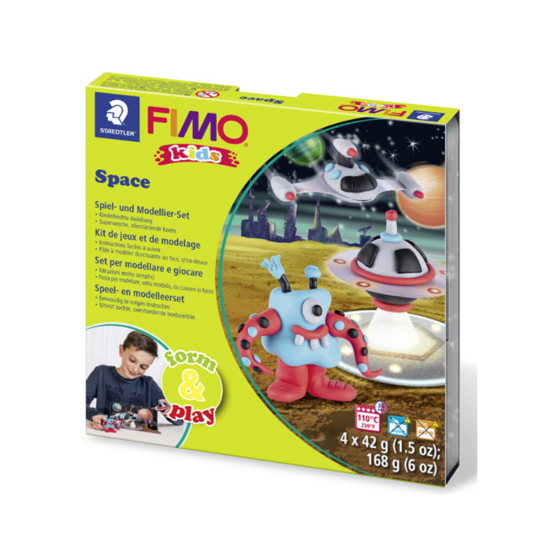 Fimo Kids startset Space Monster
