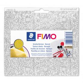 Fimo structuurvormen - leather