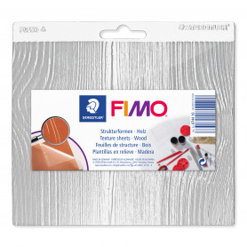 Fimo structuurvormen - wood