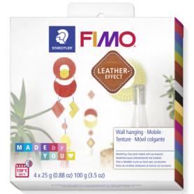 Fimo Leather DIY Mobile Tenture