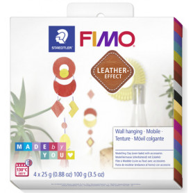 Fimo Leather DIY Wall hanging