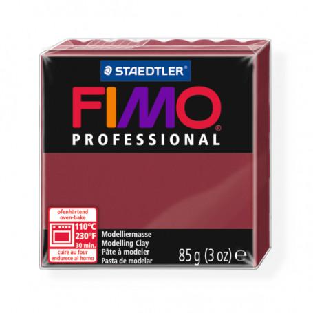 Fimo Professional 23 bordeaux rood