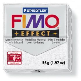 Fimo effect weiss glitter no. 052