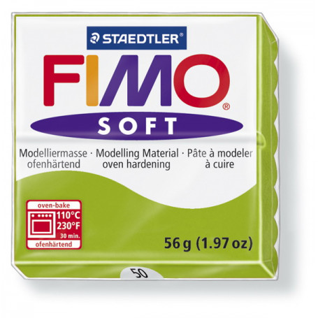 Fimo soft no.50 Apple green