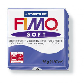 Fimo soft no.33 Brillant blue