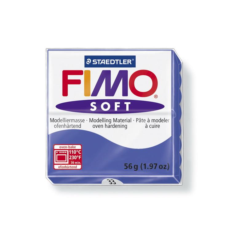 Fimo soft nr 33 Brillant blauw