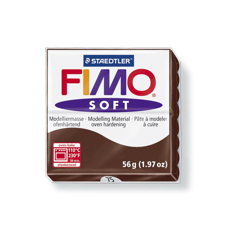 Fimo soft no.75 Chocolate