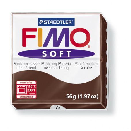 Fimo soft nr 75 Chocolade