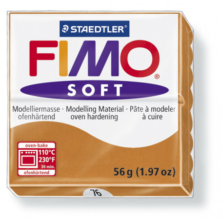Fimo soft no.76 Cognac