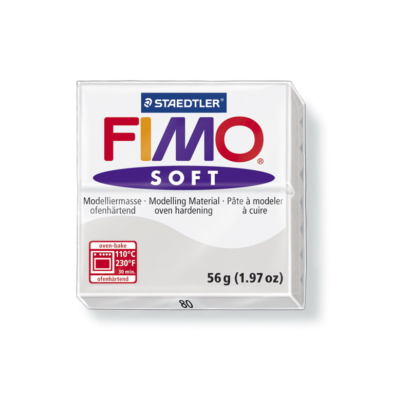 Fimo soft no.80 dolphin gray