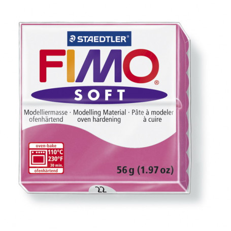 Fimo soft no.22 Raspberry