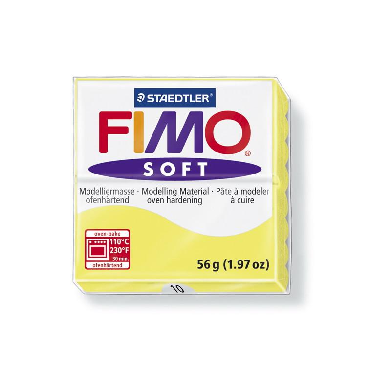 Fimo soft nr 10 Citroen Geel