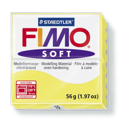 Fimo soft no.10 Lemon