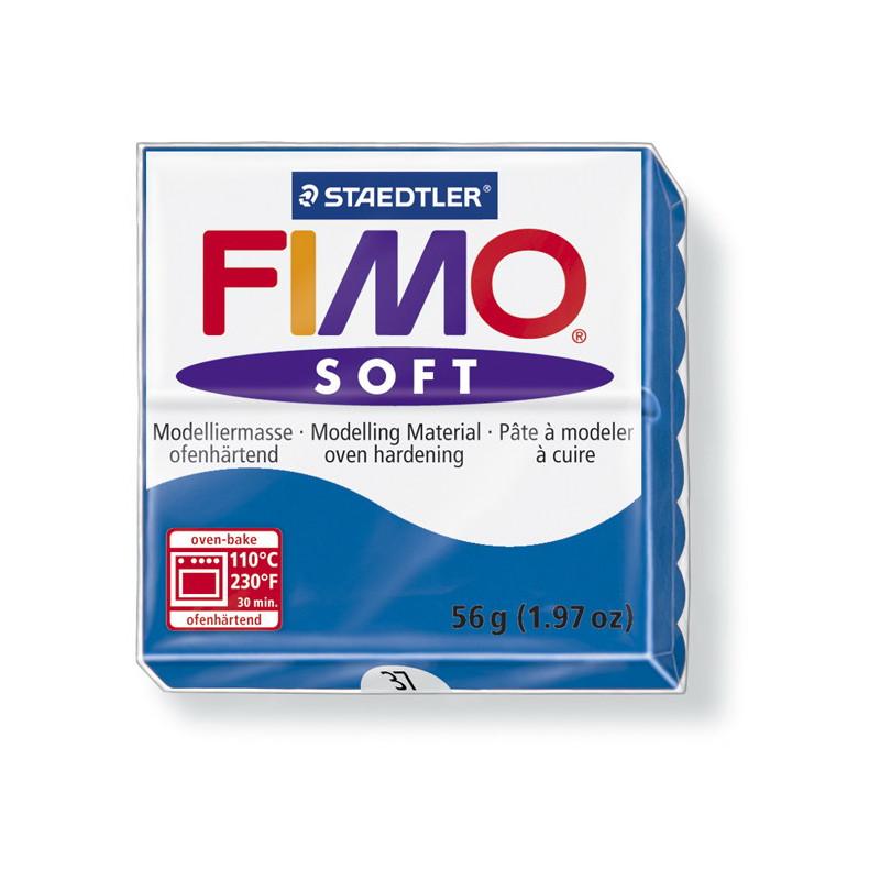 Fimo soft nr 37 Pacifi blauw
