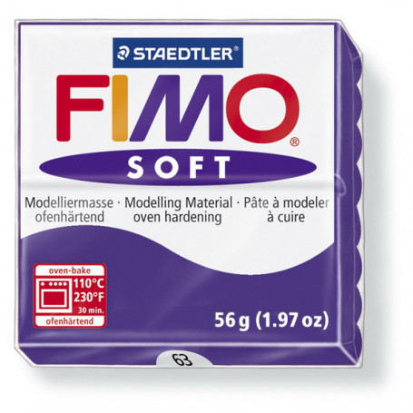 Fimo soft no.63 Plum