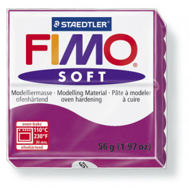 Fimo soft nr 61 Purper
