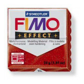 Fimo Effect nr. 202 Glitter Red