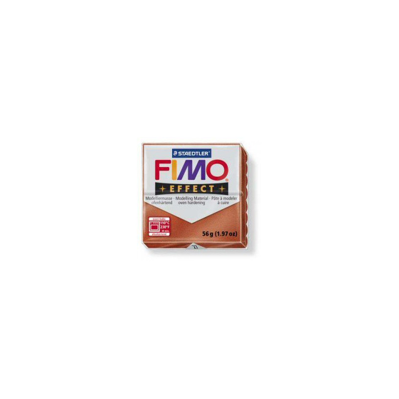 Fimo Effect nr. 27 metallic koper