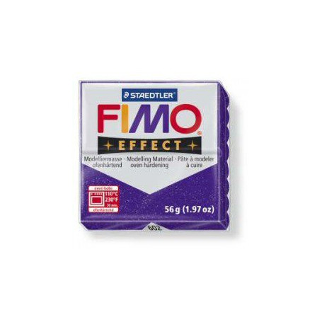 Fimo Effect nr. 602 glitter purple